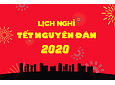 Lunar New Year Holiday 2020